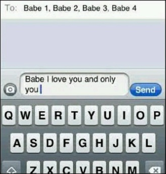 How men text