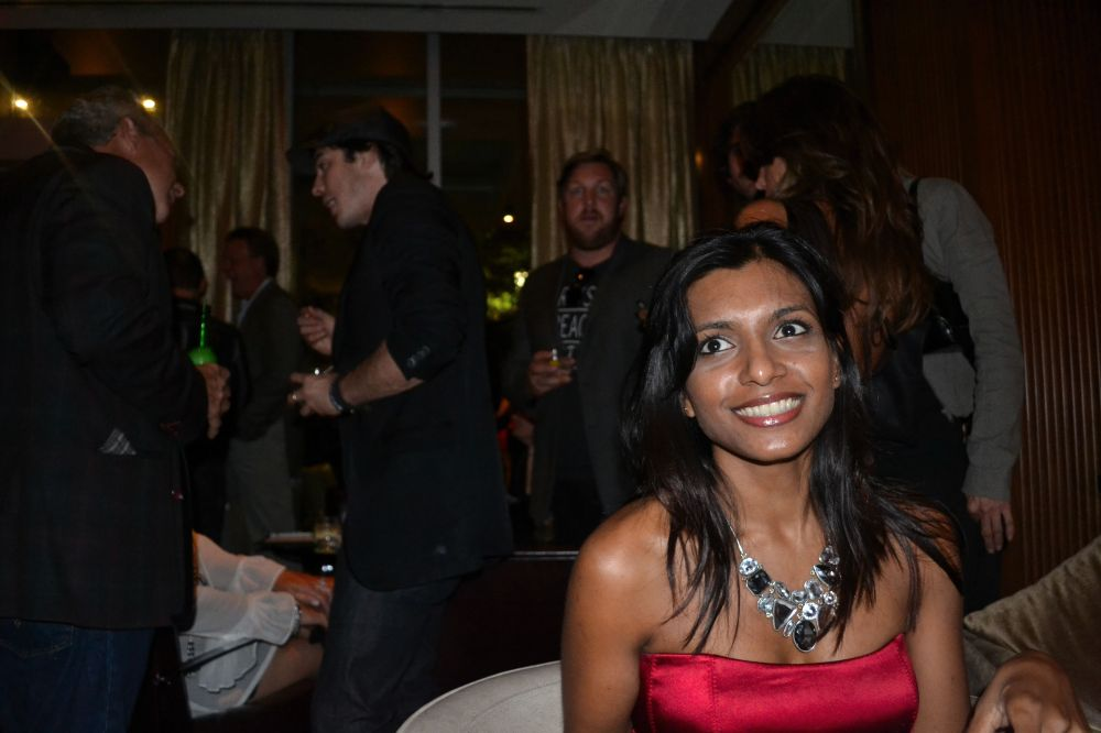 Ian Somerhalder behind Nelly
