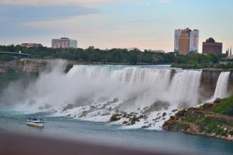 American side of the Falls
