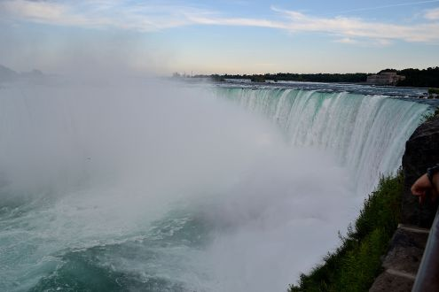 Front shot of Niagara Falls, Ontario