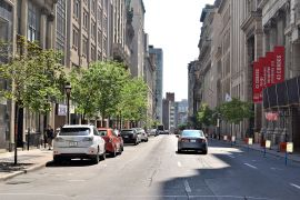 Street view of New Montreal