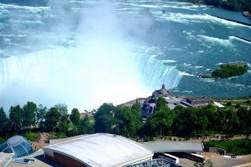 Aerial view of Niagara, Canada