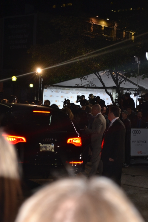 Arrival of Kate Hudson