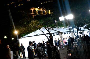 Celebrities, PR reps, assistants, movie crew etc, take the red carpet