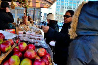 Outdoor street market