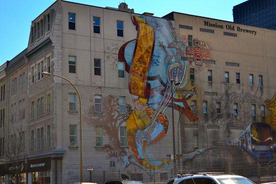 Artistic Graffiti at China Town, Montreal