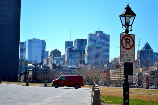 City landscape of New Montreal