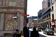 Shops and Restaurants of Old Montreal