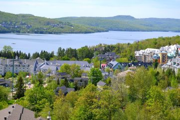 Gorgeous view from Mont Tremblant resort