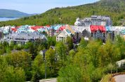 village inside Mont Tremblant