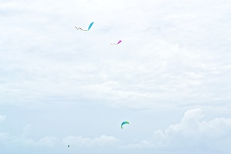 Winds are ideal for kite flying. © Krystal Seecharan
