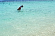Lone Snorkeler © Krystal Seecharan