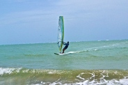 Cabaret is known as one of the top destinations for wind surfing © Krystal Seecharan