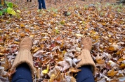 I sill enjoy playing in the leaves (c)Krystal Seecharan