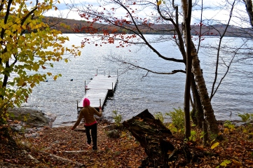 About a 3 hour hike to the lake. (c)Krystal Seecharan