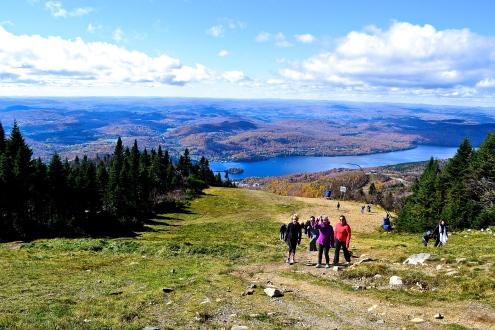 Hikers making their way to the top (c)Krystal Seecharan