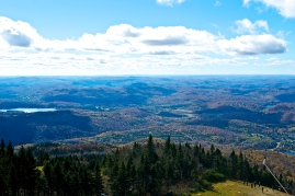 View from the top of Mont Tremblant (c)Krystal Seecharan