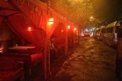 Outdoor Shisha lounge