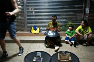 Street performer (c) Krystal S.