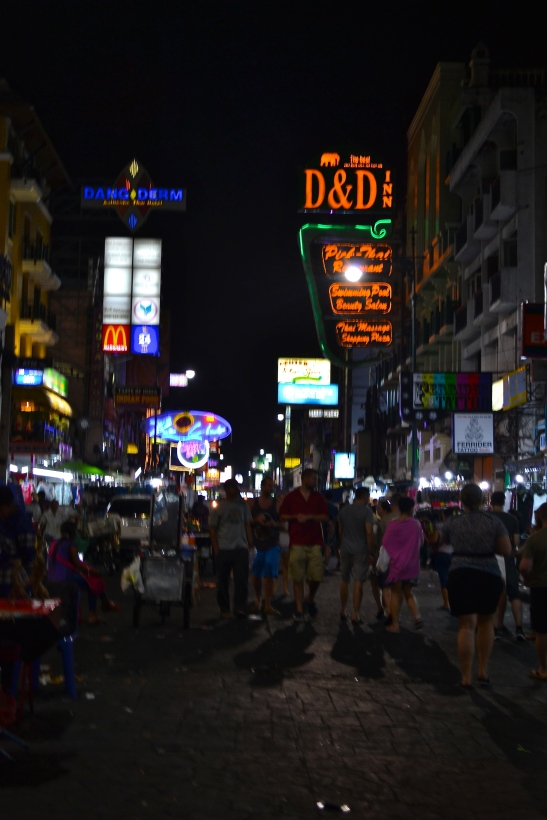 Lights, Camera, Khao San