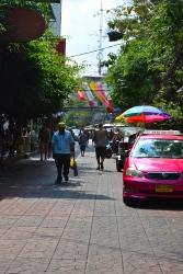Pink taxi (c) Krystal S.