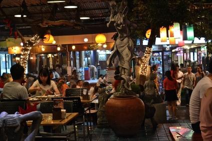 Outdoor restaurant (c) Krystal S.