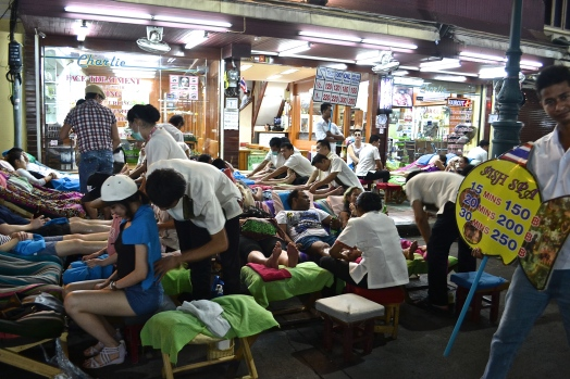 Cheap Street Massages (c) Krystal S.