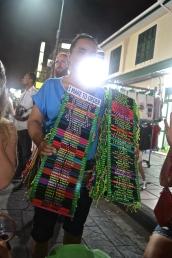 Locals offering tourist souvenirs. (c) Krystal S.