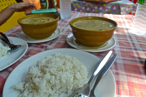 Green Curry with Rice (c) Krystal S.